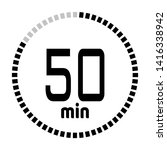 the 50 minutes countdown timer...