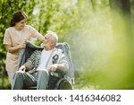 Careful Caregiver Taking Care...