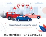 ideas that will change the... | Shutterstock .eps vector #1416346268
