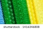 geometric design. colorful... | Shutterstock .eps vector #1416346808