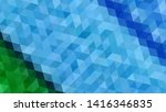 geometric design. colorful... | Shutterstock .eps vector #1416346835