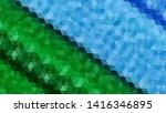 geometric design. colorful... | Shutterstock .eps vector #1416346895