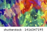 geometric design. colorful... | Shutterstock .eps vector #1416347195