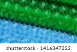 geometric design. colorful... | Shutterstock .eps vector #1416347222