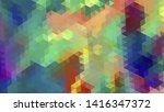geometric design. colorful... | Shutterstock .eps vector #1416347372