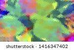 geometric design. colorful... | Shutterstock .eps vector #1416347402