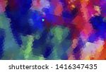 geometric design. colorful... | Shutterstock .eps vector #1416347435