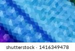 geometric design. colorful... | Shutterstock .eps vector #1416349478