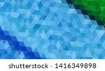 geometric design. colorful... | Shutterstock .eps vector #1416349898