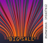 big sale bar codes all data is...   Shutterstock .eps vector #141637612