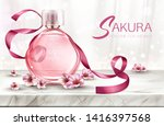 Perfume Background  Cosmetic...