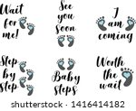 Set Of 6 Cute Baby Boy Phrases...