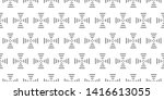 pattern stripes geometric... | Shutterstock .eps vector #1416613055