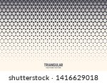 triangle vector abstract... | Shutterstock .eps vector #1416629018