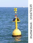 Yellow Navigational Buoy Marke...