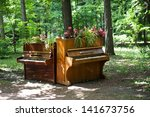 Two Pianos In The Park