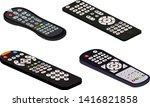remote control tv vector...   Shutterstock .eps vector #1416821858