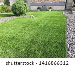 A Beautiful Artificial Lawn In...