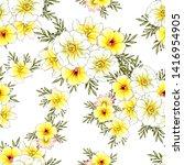 abstract elegance seamless... | Shutterstock . vector #1416954905