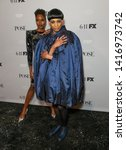 Small photo of New York, NY - June 5, 2019: Damaris Lewis wearing dress by Naeem Khan & Ryan Jamaal Swain wearing vintage dress by Ungar attends FX POSE Season 2 Premiere at The Plaza Hotel
