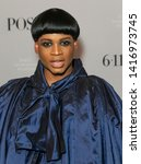 Small photo of New York, NY - June 5, 2019: Ryan Jamaal Swain wearing vintage dress by Ungar attends FX POSE Season 2 Premiere at The Plaza Hotel