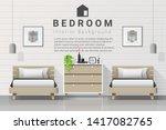 interior background of modern... | Shutterstock .eps vector #1417082765