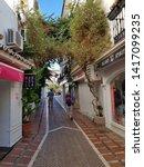 marbella  costa del sol  spain  ... | Shutterstock . vector #1417099235