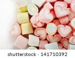 ������, ������: group of colored marshmallows