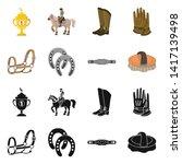 vector design of equipment and...   Shutterstock .eps vector #1417139498