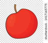 Apple Icon. Cartoon...