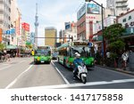 tokyo  japan   may 12  2019 ... | Shutterstock . vector #1417175858