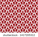 flower geometric pattern.... | Shutterstock . vector #1417205312