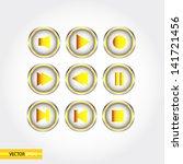 vector  web buttons. | Shutterstock .eps vector #141721456