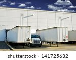 warehouse loading docks  ... | Shutterstock . vector #141725632