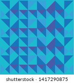 the geometric pattern. graphic... | Shutterstock .eps vector #1417290875