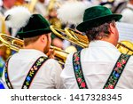 Typical Bavarian Musician In A...