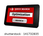 optimization | Shutterstock . vector #141732835