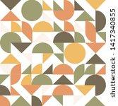 geometry minimalistic artwork... | Shutterstock .eps vector #1417340855