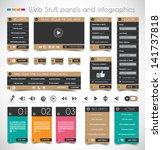 web design stuff  price panels  ... | Shutterstock .eps vector #141737818