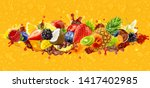 Assorted Healthy Fresh Fruits...