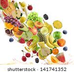 Fresh Fruits Collection On...