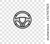 steering wheel icon from auto... | Shutterstock .eps vector #1417457825