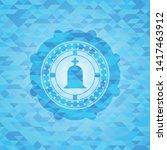 tombstone icon inside light... | Shutterstock .eps vector #1417463912