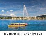 The Geneva Water Fountain  Jet...