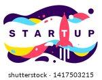vector creative illustration of ... | Shutterstock .eps vector #1417503215