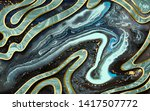 marble abstract acrylic... | Shutterstock . vector #1417507772