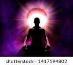 universal psychic mind power of ... | Shutterstock . vector #1417594802