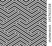 full seamless modern geometric... | Shutterstock .eps vector #1417611518