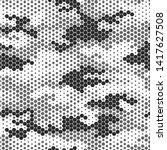 full seamless modern dots... | Shutterstock .eps vector #1417627508