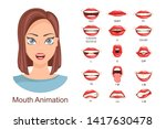 female lip sync. lip sync... | Shutterstock .eps vector #1417630478